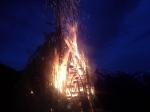 Praznično-ognjeni uvod v jubilejno sezono pri Koči na Golici.